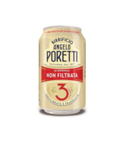 Birra Poretti in lattina da 33cl