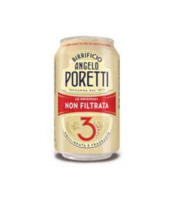 Birra Poretti in lattina da 33cl