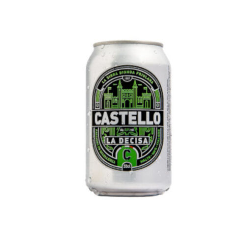 Birra Castello in lattina da 33cl