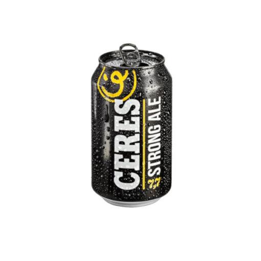 Birra Ceres Strong Ale in lattina da 33cl