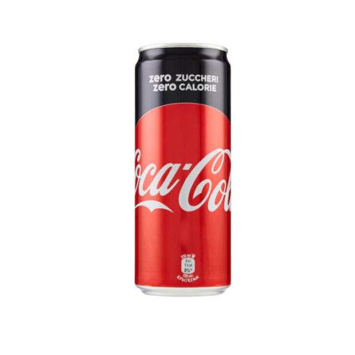 Coca Zero in lattina da 33cl